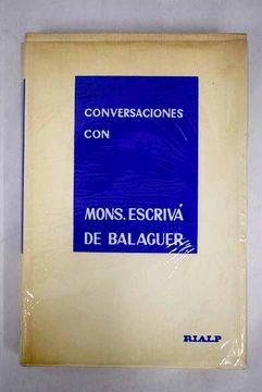portada Conversaciones con Mons. Escrivá de Balaguer