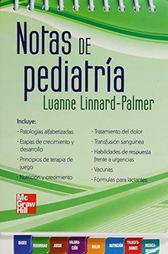 portada Notas de Pediatria (libro en EspañolISBN: 9786071506689Paginas: 260Encuadernación: Rustica en espiral)