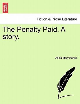 portada the penalty paid. a story.