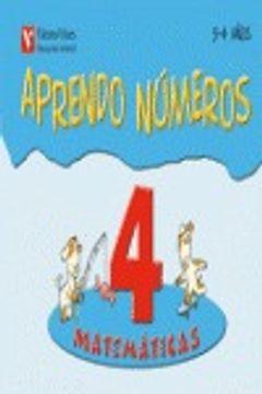 portada Aprendo Numeros Cuaderno 4 (3-4 Años)