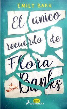 portada El Unico Recuerdo de Flora Banks