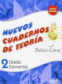 portada Cuadernos de Teoría, Grado Elemental Volumen 2 (rm Teoria de la Musica)