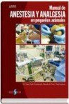 portada Manual de Anestesia y Analgésia en Pequeños Animales