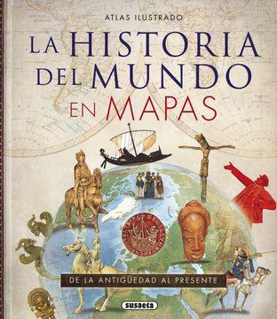 portada Atlas Ilustrado de la Historia del Mundo en Mapas