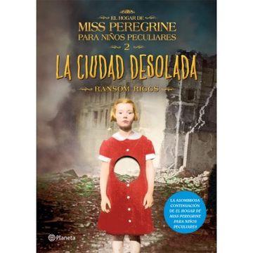 portada Miss Peregrine Para Niños Peculiares 2: La Ciudad Desolada