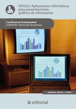 portada Aplicaciones Informáticas Para Presentaciones: Gráficas de Información. Adgn0108 - Financiación de Empresas