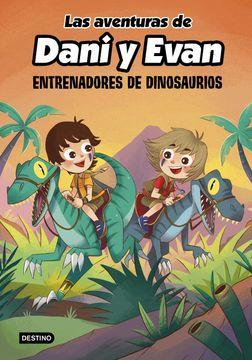 portada Las Aventuras de Dani y Evan 3. Entrenadores de Dinosaurios