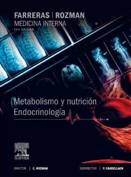 portada Farreras-Rozman. Medicina Interna. Metabolismo y Nutrición. Endocrinología - 17ª Edición