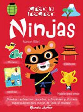 portada Ninjas [Stickers + Modelos p/ Armar + Estenciles + Desafios]