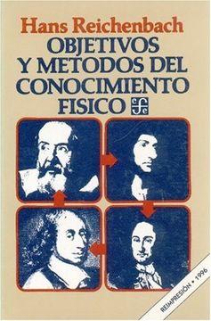 portada Objetivos y Metodos del Conocimiento Fisico (Coleccion Popular (Fondo de Cultura Economica))