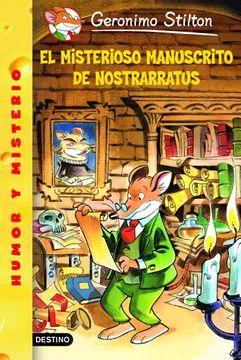 portada El Misterioso Manuscrito de Nostrarratus