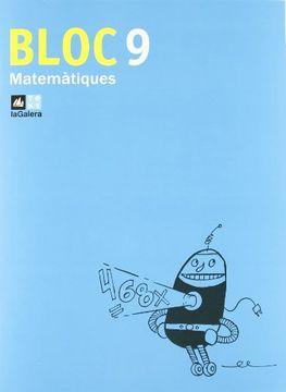 portada Bloc Matemàtiques 9 (libro en Catalán)