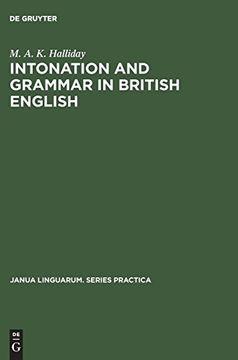 portada Intonation and Grammar in British English (libro en Inglés)