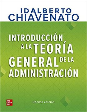 portada Introduccion a la Teoria General de la Administracion