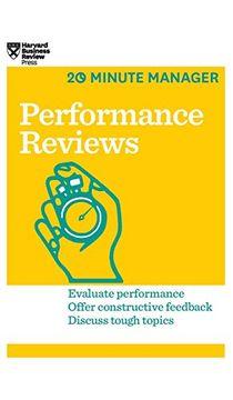 portada Performance Reviews (Hbr 20-Minute Manager Series) (libro en Inglés)