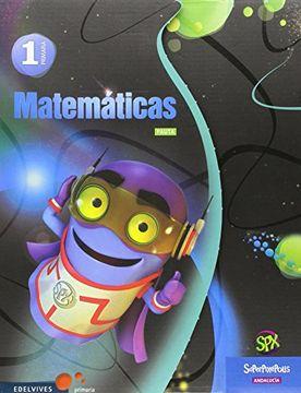 portada Matematicas 1º Primaria Pauta - Andalucia (Superpixépolis)