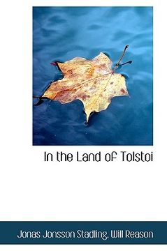 portada in the land of tolstoi