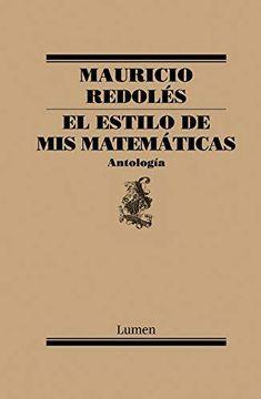 portada El Estilo de mis Matemáticas: Antología