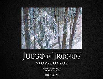 portada Juego de Tronos. Storyboards