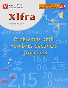 portada Xifra Quadern 29.  Matematiques.   Reforç I Ampliacio