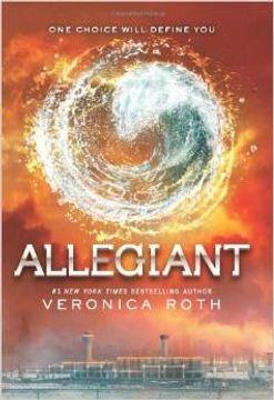 portada Allegiant (libro en Inglés)