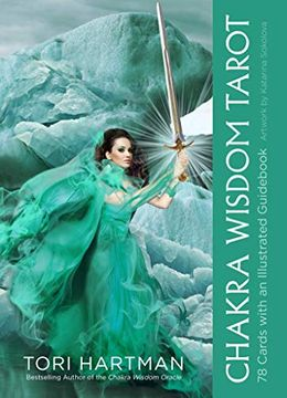 portada Chakra Wisdom Tarot: 78 Cards With Illustrated Guidebook (libro en Inglés)
