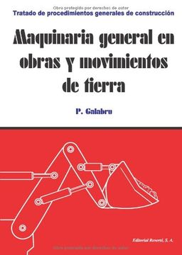 portada Maquinaria General en Obras y Movimientos de Tierra (Tratado de Procedimientos Generales de Construcción)
