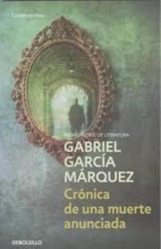 portada Cronica de una Muerte Anunciada