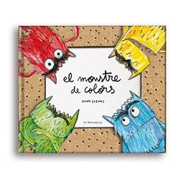 portada El Monstre de Colors Pop-Up (libro en Catalán)