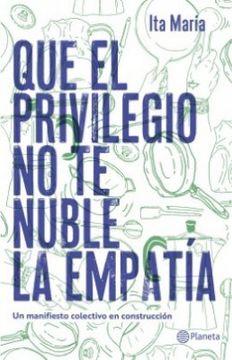 portada Que el Privilegio no te Nuble la Empatia