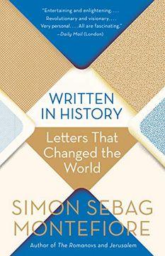 portada Written in History: Letters That Changed the World (libro en Inglés)