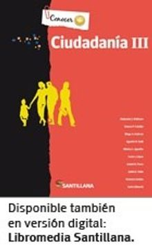 portada Ciudadania 3 Santillana Conocer +