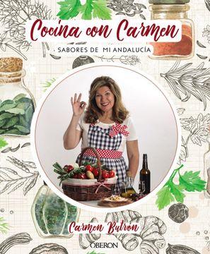 portada Cocina con Carmen: Sabores de Andalucía (Libros Singulares)
