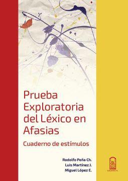 portada Prueba Exploratoria del Léxico en Afasias , Cuaderno y Manual