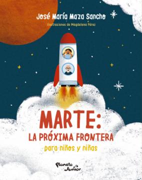 portada Marte la Próxima Frontera Para Niños y Niñas