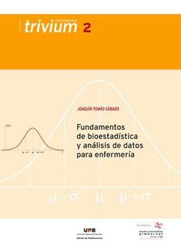 portada Fundamentos de Bioestadística y Análisis de Datos Para Enfermería