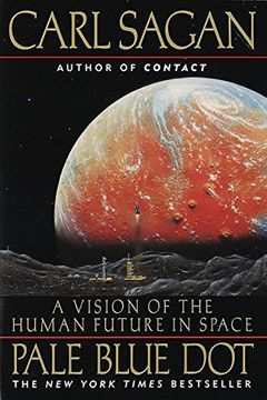 portada Pale Blue Dot: A Vision of the Human Future in Space (libro en Inglés)