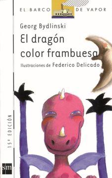 portada El Dragón Color Frambuesa