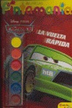 portada Cars. pintamanía acuarelas (Planeta Junior)
