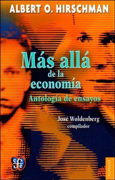 portada Más Allá de la Economía. Antología de Ensayos