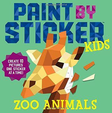 portada Paint by Sticker Kids: Zoo Animals