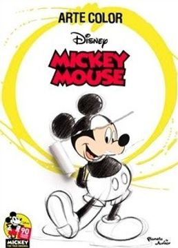 portada Mickey Mouse. Arte Color