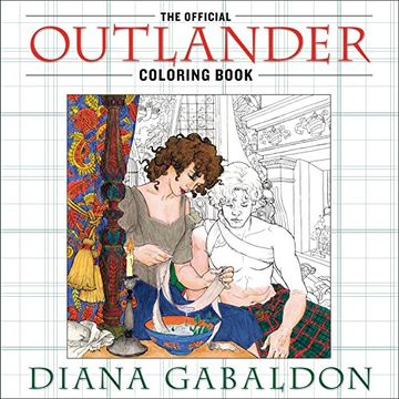 portada The Official Outlander Coloring Book: An Adult Coloring Book (libro en Inglés)