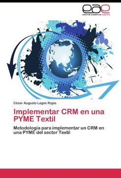portada Implementar CRM en una PYME Textil: Metodología para implementar un CRM en una PYME del sector Textil