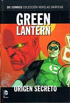 portada Green Lantern. Origen Secreto
