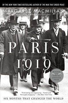 portada Paris 1919: Six Months That Changed the World (libro en Inglés)