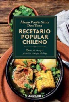 portada Recetario Popular Chileno