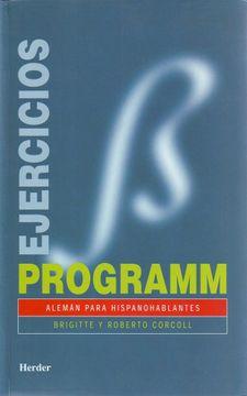 portada Programm Ejercicios - Aleman Para Hispanohablantes