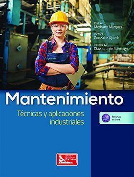 portada Mantenimiento Tecnicas y Aplicaciones Industriales