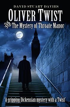 portada Oliver Twist and the Mystery of Throate Manor (libro en Inglés)